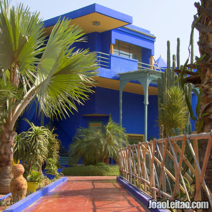 Jardins de Majorelle em Marrakech