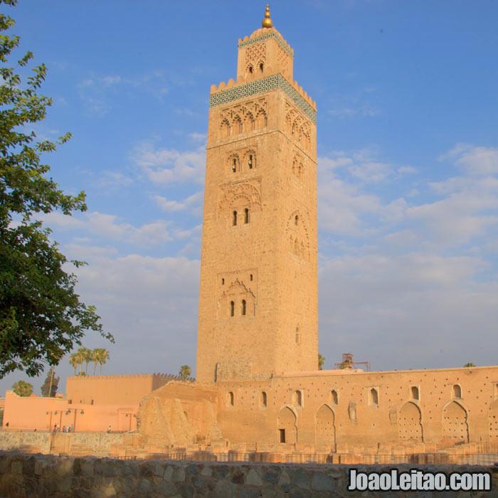 A Koutoubia em Marrakech