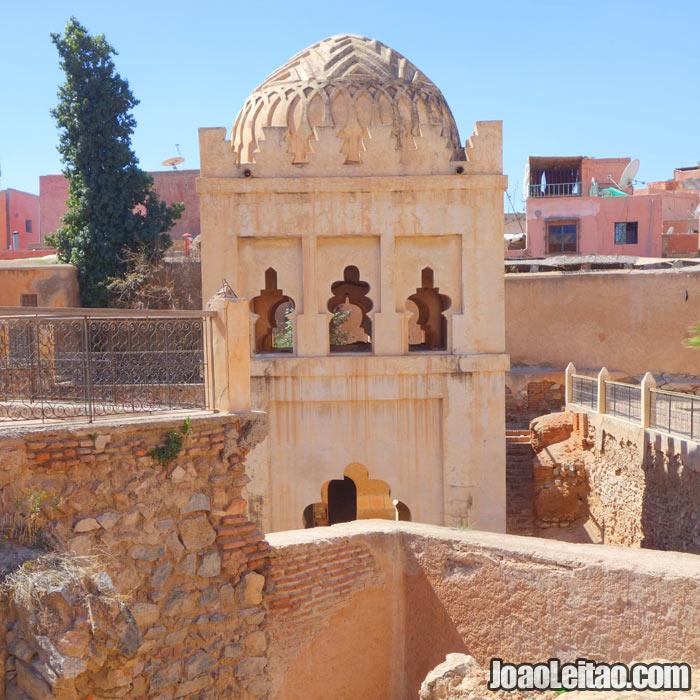 Qubba Almorávida em Marrakech
