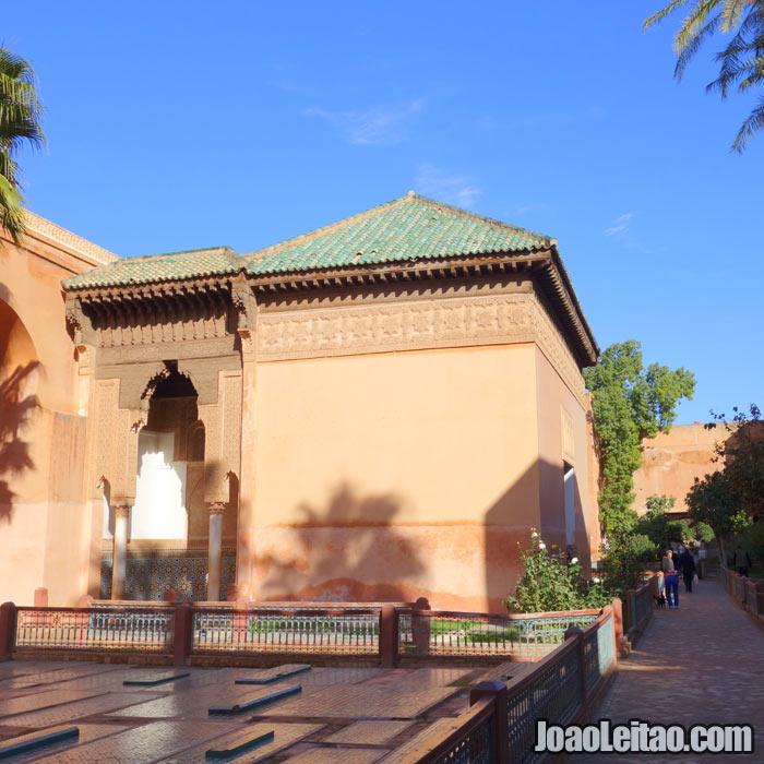 Túmulos saadianos em Marrakech