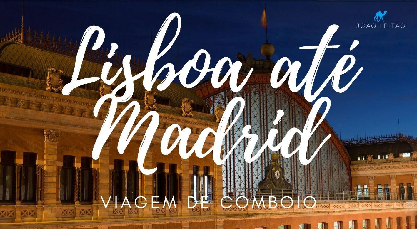 Comboio Lisboa Madrid