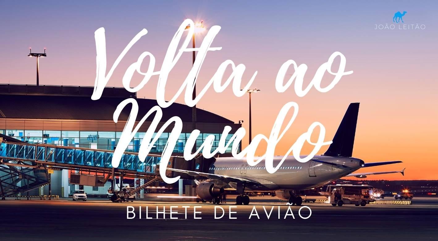 Comprar Bilhete de Avião Volta ao Mundo