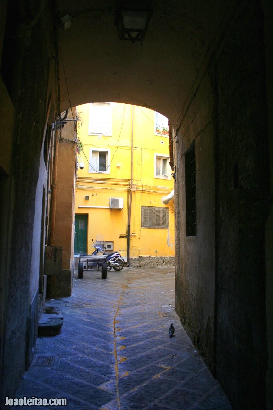 Foto de uma ruela em Pisa
