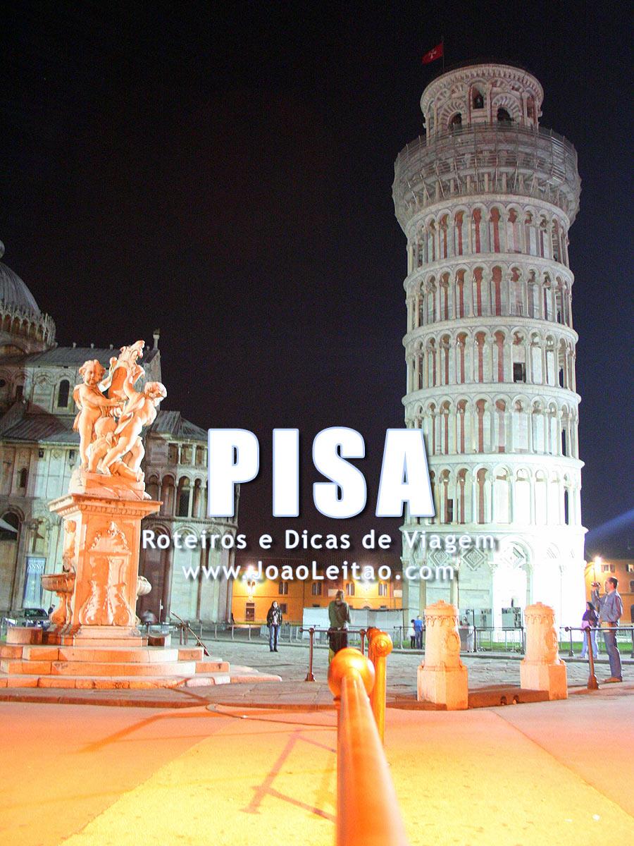 Visitar Pisa, Guia de Viagem - Dicas, Roteiros, Mapas, Fotos
