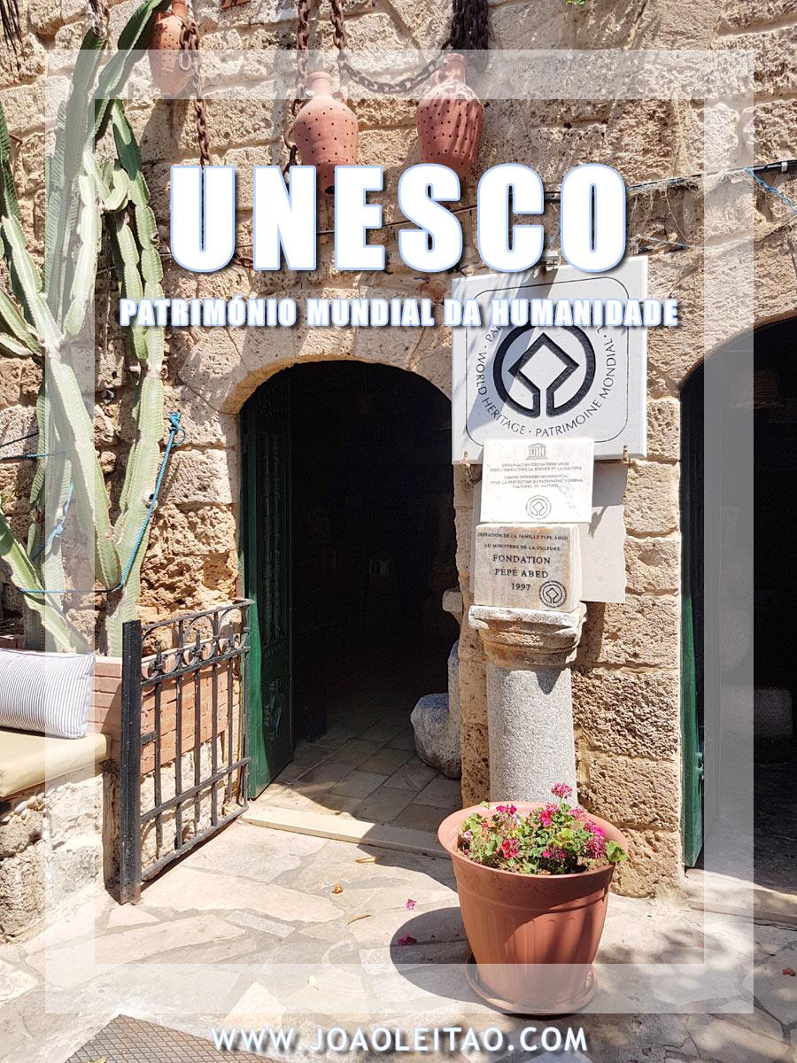 UNESCO PATRIMÓNIO MUNDIAL DA HUMANIDADE