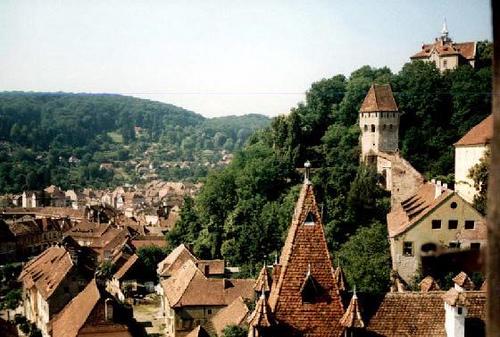 Sighisoara cidade na Transilvânia, Roménia