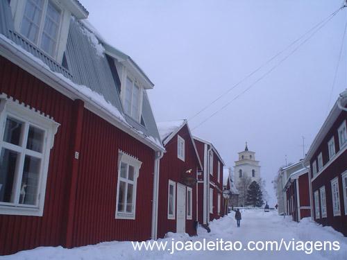 Aldeia histórica de Gammelstad, UNESCO Suécia