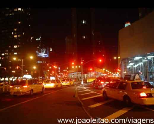 Manhattan em Nova Iorque, EUA