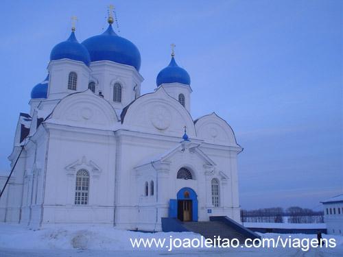 Mosteiro de Bogolyubovo em Vladimir, Rússia