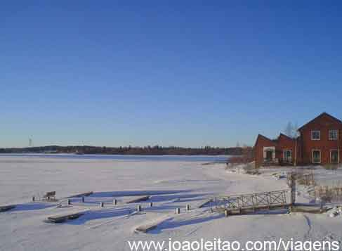 Oulu, Círculo Polar Ártico Finlandia