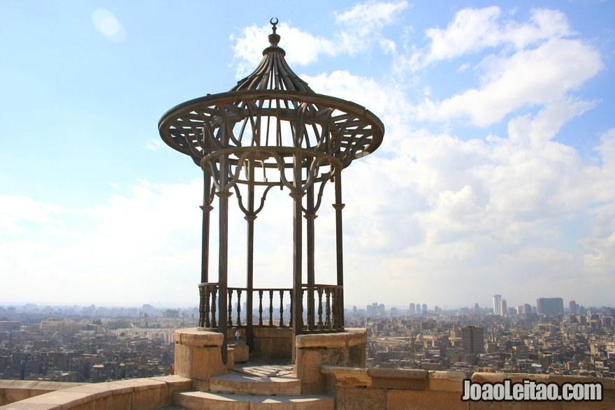 Foto da vista  do Cairo desde a Citadela Saladin