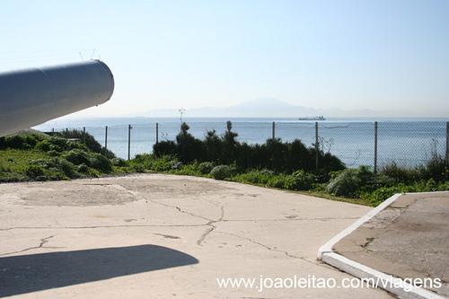 Canhão 100 toneladas, Gibraltar