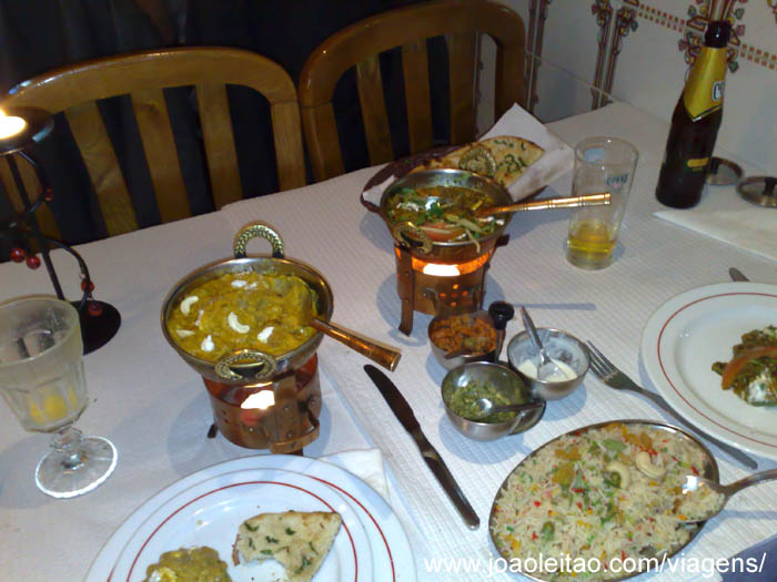 Restaurante Indiano Shamiyana, Gibraltar