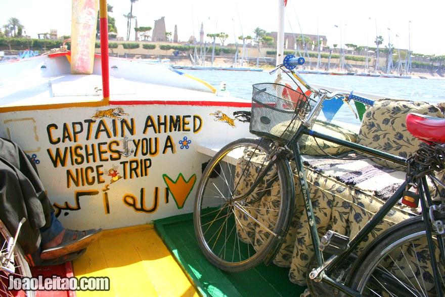 Alugar Bicicleta em Luxor