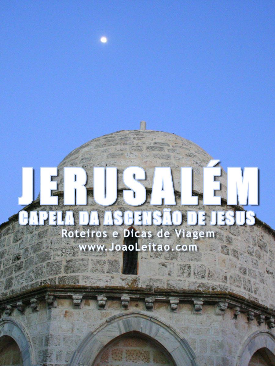 Capela da Ascensão de Jesus no Monte das Oliveiras