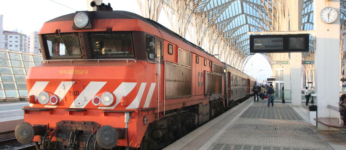Comboio Trem Lisboa Evora