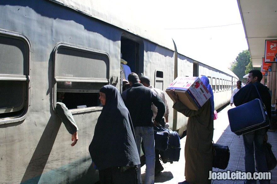 Comboio no Egito
