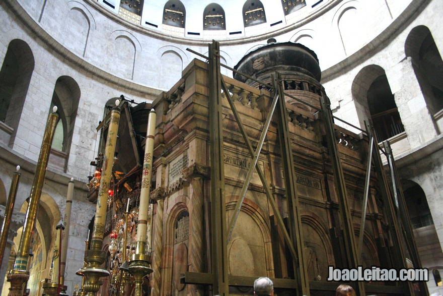 Santo Sepulcro: local da crucificação de Jesus