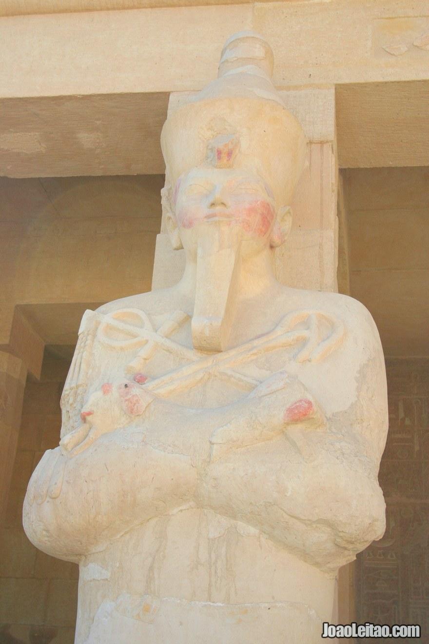 Escultura da Rainha Hatshepsut