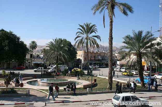 Centro de Jericó, Cisjordânia Palestina