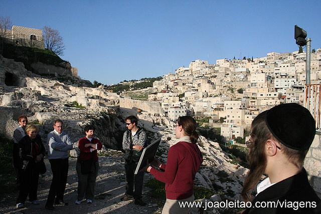 Fotografias da Cidade de David, Jerusalém Israel