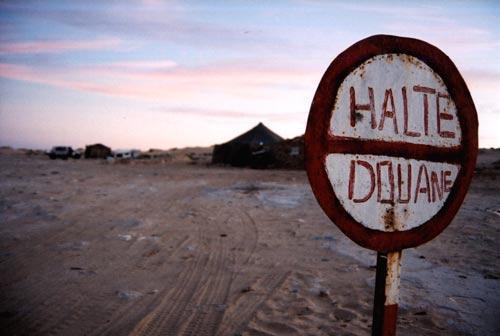 Antiga Fronteira da Mauritânia e Saara Ocidental Marroquino