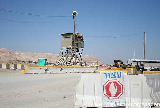 Fronteira Cisjordânia, Checkpoint Militar Palestina Israel