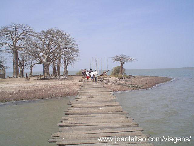 Ilha James em Albreda Juffureh, Gâmbia