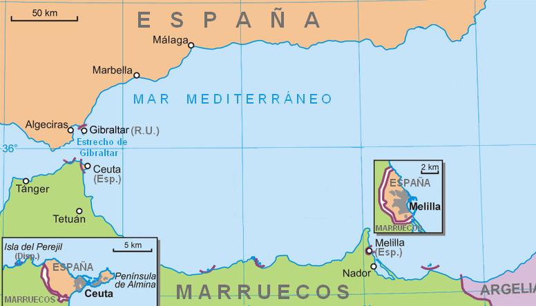 mapa espanha gibraltar Mapas de Gibraltar, Gibraltar Mapas mapa espanha gibraltar