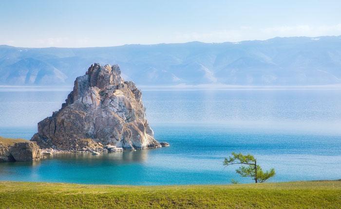 O Lago Baikal