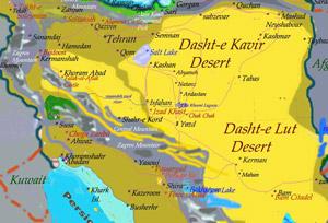Mapas do Irao