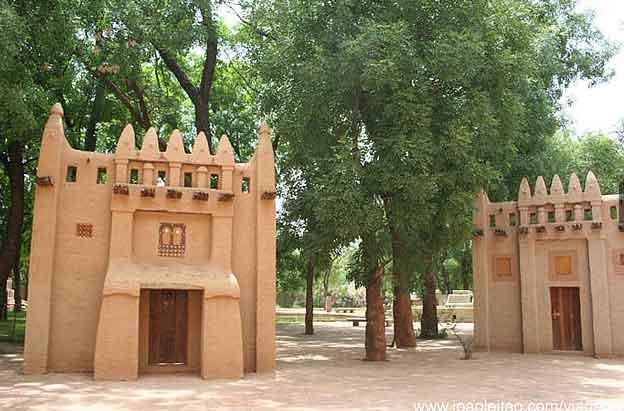 Museu Nacional do Mali em Bamako, Mali
