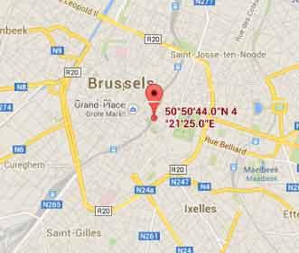 Transportes para o Aeroporto de Bruxelas, Brussel Nationaal Bélgica 8