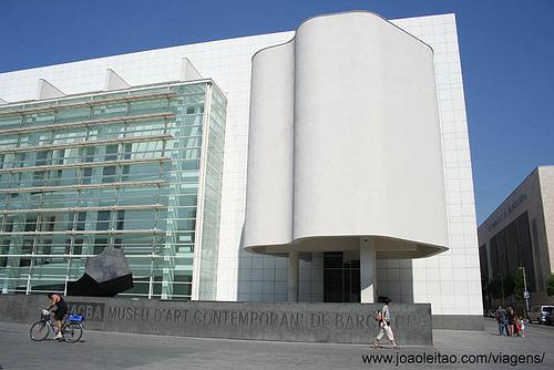 Museu MACBA, Barcelona Espanha