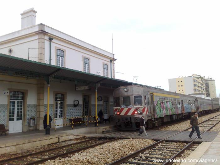 estação de comboios de portimão,comboios portugal