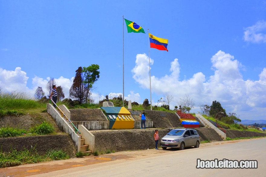 A fronteira entre o Brasil e a Venezuela tem 2.200 KM é a 17º maior do mundo