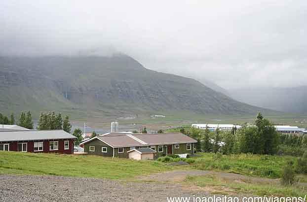 Reydarfjordur, Islândia