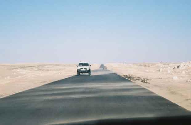 Estrada Nouakchott até Nouadhibou, Mauritânia