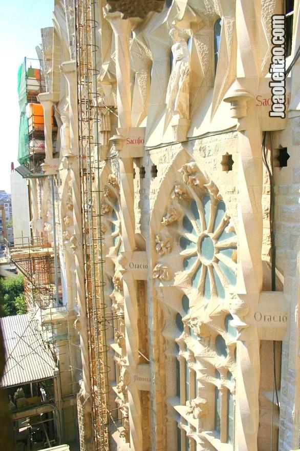 Foto da igreja da Sagrada Família em Barcelona