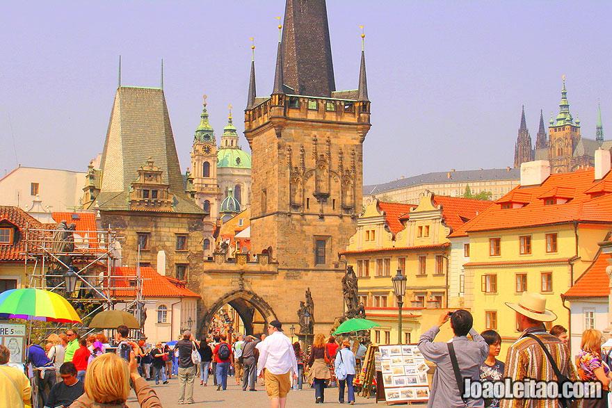 Centro histórico de Praga na República Checa