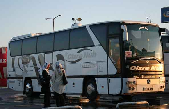 Autocarro Istambul até Erbil, Iraque