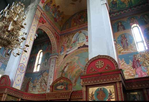 Catedral da Natividade de Cristo em Tiraspol, Pridnestróvia Transnístria