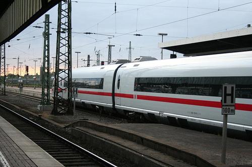 Comboio Dortmund até Darmstadt Alemanha 2