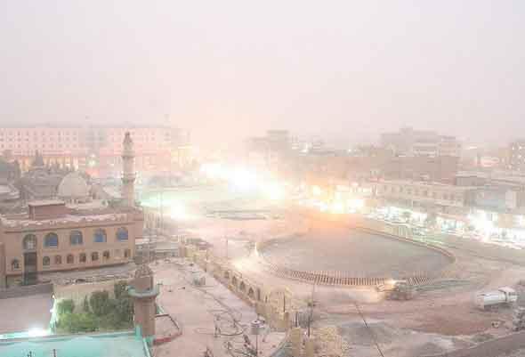 Erbil do Topo da cidadela, Região Curdistão, Iraque