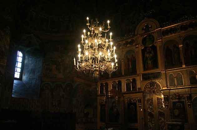 Igreja Biserica Sfantul Dumitru em Suceava, Roménia