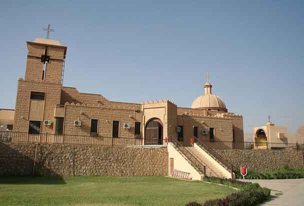 Igreja em Dahuk, Região do Curdistão, Iraque