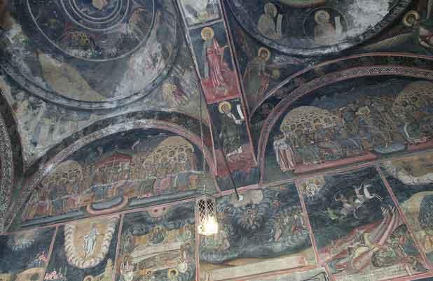 Igreja Kretzulescu em Bucareste, Roménia