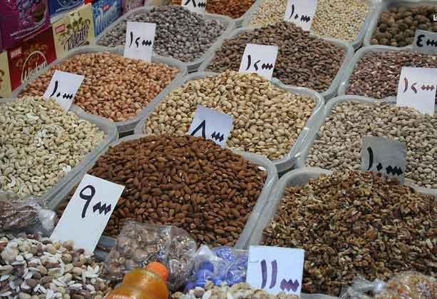 Mercado em Dohuk, Região do Curdistão, Iraque