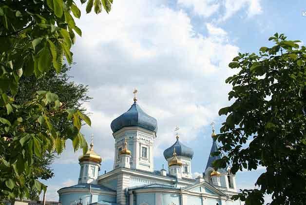 Mosteiro de St. Teodoro Tiron, Chisinau Moldávia