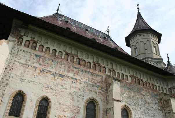 Mosteiro Sfântul Ioan cel Nou em Suceava, Roménia